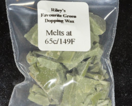 Green Dopping Wax- Riley's Favourite  65C/149F [25449]