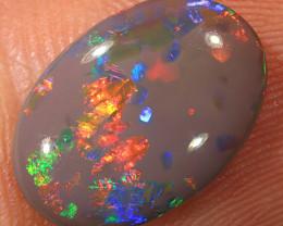 2.65ct 13.5x9.5mm Solid Lightning Ridge Dark Opal [LO-2035]