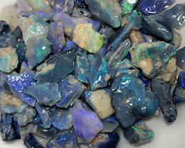 BLACK OPAL ROUGH (must read the details) 110 CTs #2786