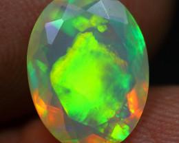 2.00cts 5/5 Aurora Pattern Natural Ethiopian Welo Opal