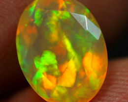 1.50cts Neon Patchwork Pattern Natural Ethiopian Welo Opal
