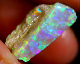 4.91cts Australian Lightning Ridge Opal Rough / WR911