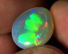 11.50 cts Ethiopian Welo RIBBON RAINBOW crystal opal N9 4/5