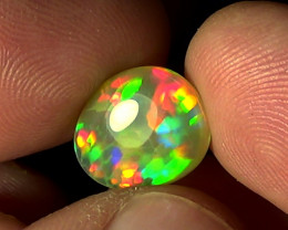 3.40 cts Ethiopian Welo HONEYCOMB PUZZLE brilliant opal N5 5/5