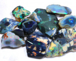65CTS  BLACK OPAL ROUGH  L. RIDGE PARCEL  DT-A387