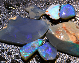 35CTS  BLACK  OPAL ROUGH  L. RIDGE PARCEL  DT-A388