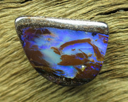 8.5cts. QUEENSLAND PIPE OPAL~PATTERN STONE..