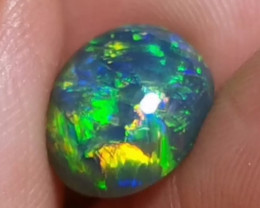 TOP GRADE HIGH DOME BLACK OPAL  FROM LIGHTNING RIDGE