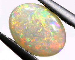 0.62 CTS  WHITE OPAL POLISHED CUT STONE  TBO-A467