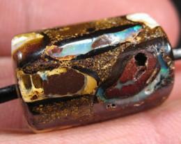 YOWAHOPALS*42.20ct LARGE -Barrel bead- PENDANT