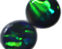 0.47 CTS BLACK OPAL PAIR FROM LIGHTNING RIDGE  [LRO767]