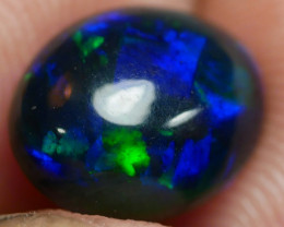 1.60 CT Beautiful Smoked Blue Ethiopian Opal *
