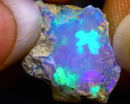 6.33Ct Multi Color Play Ethiopian Welo Opal Rough G2118