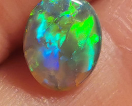 1.045 Carats BLACK CRYSTAL OPAL