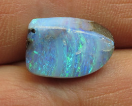 8cts, BOULDER OPAL~LOVELY FINISH!