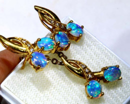 27 CTS -  18K GOLD  CRYSTAL OPAL  SET OF-2720