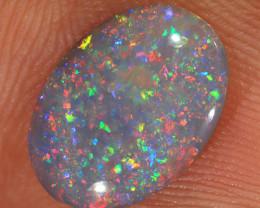 1.4ct 12x8.5mm Solid Lightning Ridge Dark Opal [LO-2041]