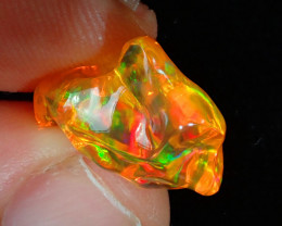 6.84ct Mexican Carving Fire Opal