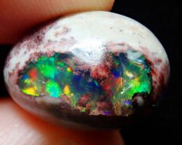 10.42ct Mexican Matrix Cantera Multicoloured Fire Opal
