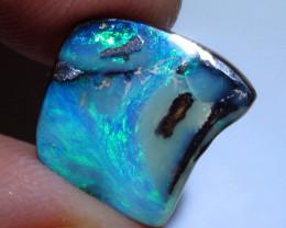 8.15 ct Boulder Opal Natural Blue Green Color