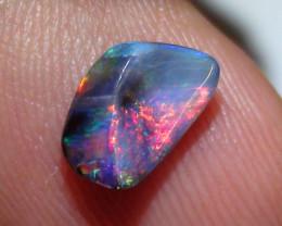 1.15 ct $1 NR Boulder Opal Natural Gem Multi Color