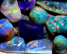 180 -CTS  QUALITY BLACK OPAL ROUGH  PARCEL L. RIDGE  DT-A754