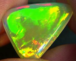 5.70 cts Ethiopian Welo FLASH CHAFF PINFIRE brilliant opal N6 5/5
