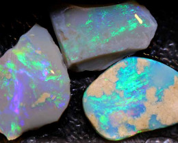 19.25- CTS   DARK  BASE OPAL ROUGH PARCEL  L. RIDGE  DT-A775