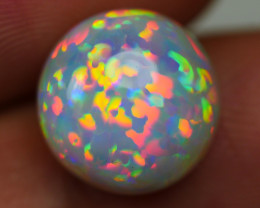 3.30 CRT WONDERFULL ROUND PRISM RAINBOW PUZZLE PATTERN WELO OPAL