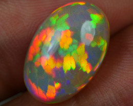 4.50 CRT STUNNING WELO CHAFF PERFECT HONEYCOMB DELUXE COLOR WELO OPAL