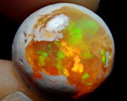 7.03ct Mexican Matrix Cantera Multicoloured Fire Opal