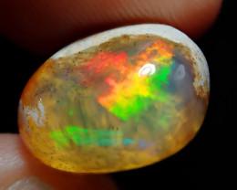 7.39ct Mexican Matrix Cantera Multicoloured Fire Opal