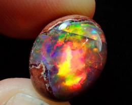 7.42ct Mexican Matrix Cantera Multicoloured Fire Opal
