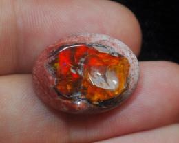 12.50ct. Mexican Matrix Cantera Multicoloured Fire Opal