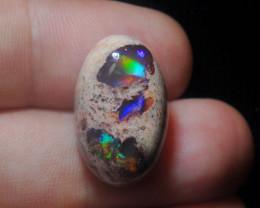 22.48ct Mexican Matrix Cantera Multicoloured Fire Opal