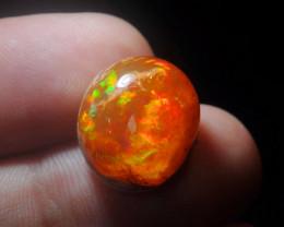 14.65ct Mexican Matrix Cantera Multicoloured Fire Opal
