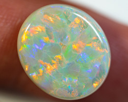 9.73 ct SOLID LIGHT OPAL LIGHTNING RIDGE NATURAL GEM COPB250120