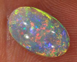 1.55ct 11x6.5mm Solid Lightning Ridge Dark Opal [LO-2046]