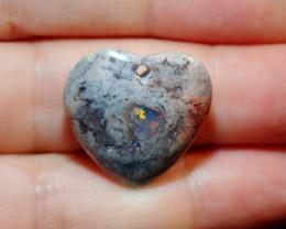 19ct Mexican Matrix Cantera Multicoloured Fire Opal