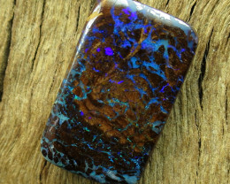 7.5cts. QUEENSLAND OPAL~DOUBLE SIDED POLISHED STONE..