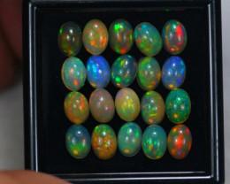 11.90Ct Natural Ethiopian Welo Opal Lot JA1523