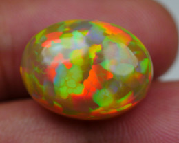 10.60 CRT STUNNING HONEYCOMB BEAUTY PUZZLE RAINBOW FULL COLOR WELO OPAL*