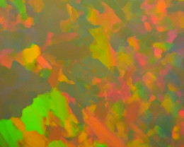 8.30 CRT DARK BASE ABSTRACK PAINTING FIRE DELUXE COLOR WELO OPAL*