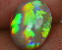 4.50 CRT BEAUTIFULL WELO CHAFF FLOWER PATTERN DELUXE COLOR WELO OPAL