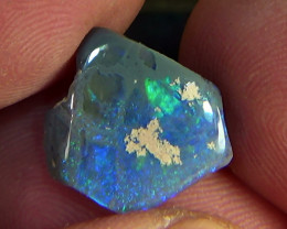 4.70 cts Australian Lightning Ridge CIRRUS PINFIRE polished opal N9 4,5/5