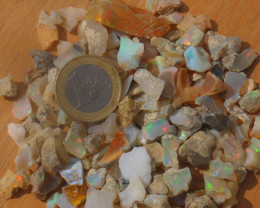 209ct Nice Rough  Random Opal Rough Parcel Estayish  Ethiopia NR Lot