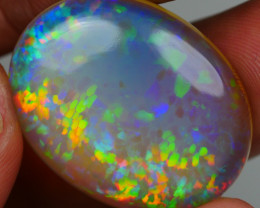 22.75CRT BRILLIANT BRIGHT CRYSTAL HONEYCOMB WELO OPAL -