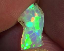 2.50 cts Ethiopian Welo HONEYCOMB polished crystal opal N9 4,5/5