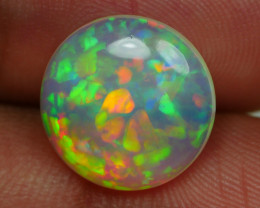 3.70 CRT BEAUTY FLOWER ROUND PATTERN PLAY COLOR WELO OPAL