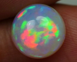 3.25 CRT BEAUTY ROUND FLOWER FLORAL PLAY MULTICOLOR WELO OPAL